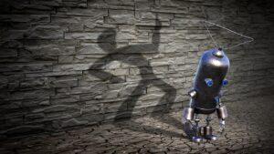 Fantasy Robot Shadow Wall  - KELLEPICS / Pixabay